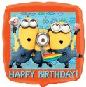 Minions-Happy-Birthday-Vierkante-Folie-Ballon-45cm