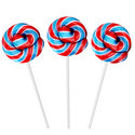 Rood-Wit-en-Blauw-Mini-Spiraal-Lollys-met-Fruit-Smaak-50st