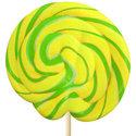 Geel-en-Groen-Spiraal-Lollys-met-Appel-Smaak-30st
