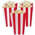 Rood-Strepen-Popcorn-Bak-5st