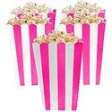Fel-Roze-Strepen-Popcorn-Bak-5st