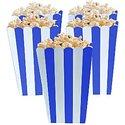 Koninklijk-Blauw-Strepen-Popcorn-Bak-5st