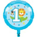 Blauw-One-is-Fun-Folie-Ballon-45cm