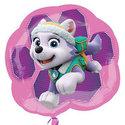 Roze-Paw-Patrol-Everest-en-Skye-SuperVorm-Folie-Ballon-68cm